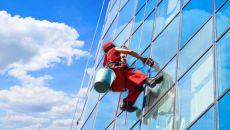 Промышленный альпинизм в Омске