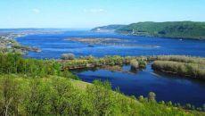 Составляющие части реки Волги