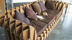 Изготовление мебели из картона своими руками