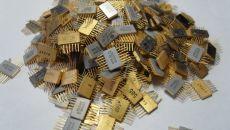 Источники содержания драгоценных металлов в радиодеталях