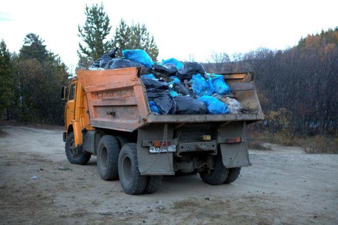 Куда можно вывезти мусор самостоятельно