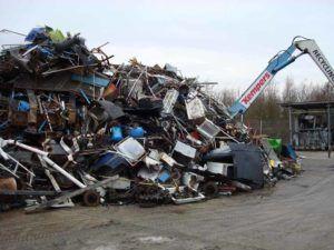Переработка лома уменьшает загрязнение окружающей среды