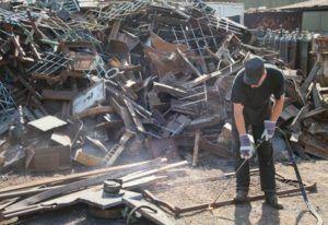 Подготовка стального металлолома