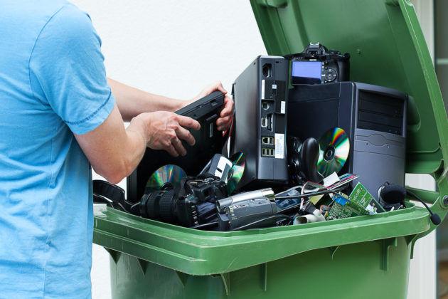 Предприятия по переработке электронно-бытовых отходов