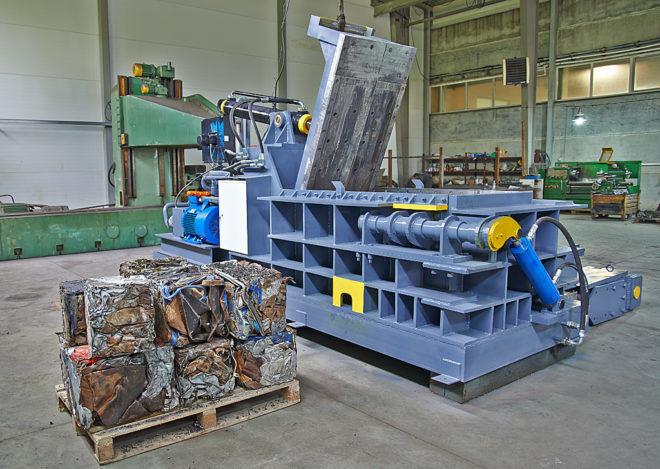 Прессы для металлолома