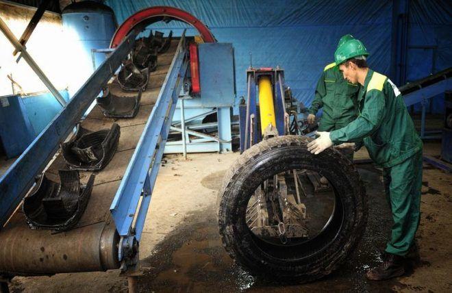 Составление акта на утилизацию шин