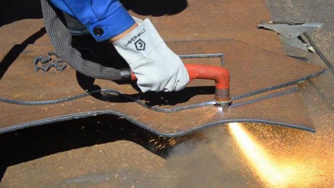 Технология резки металла сварочным инвертором