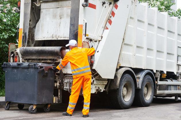 Услуги по транспортировке мусора