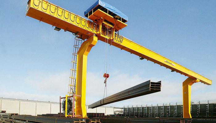Мостовой кран для металлолома