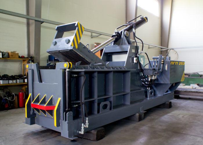 Пресс-машина ПГП 253 для металлолома