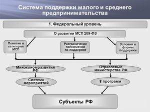 Система поддержки малого и среднего предпринимательства в России