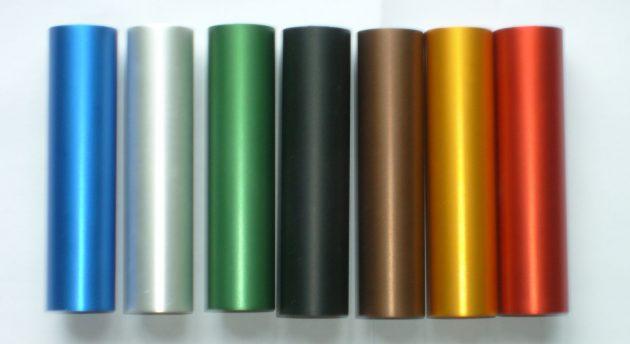 Анодирование и покраска экструдированного алюминия