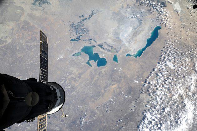 Аральское море из космоса