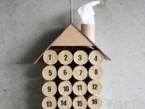 Картонный календарь своими руками