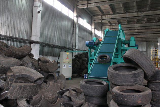 Линия для переработки шин в крошку