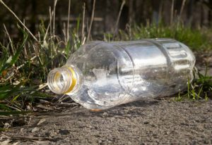 ПЭТ бутылки в общественных местах