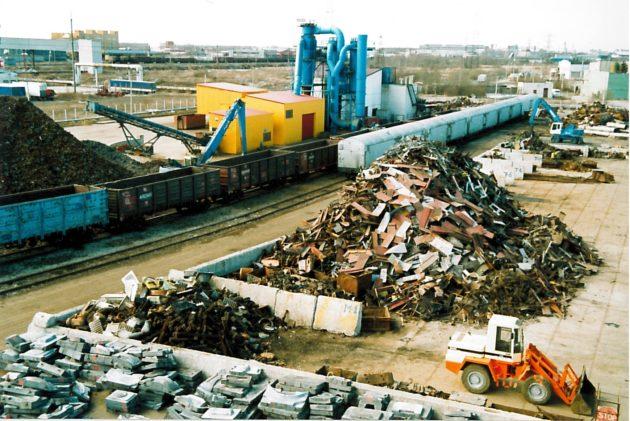 Переработка металлических отходов