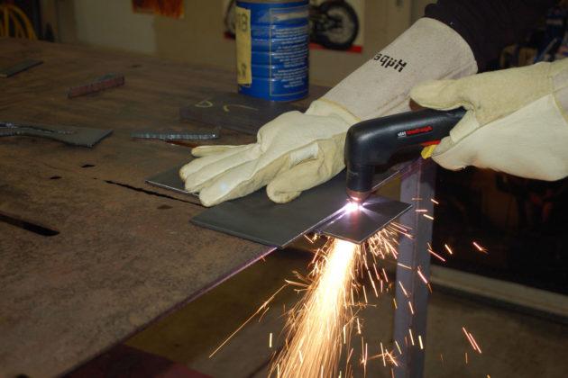 Плазменный метод резки металла