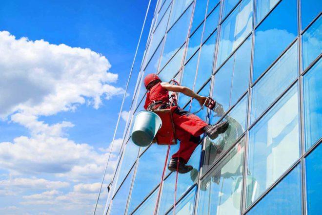 Промышленный альпинизм в Челябинске