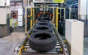 Процесс переработки шин