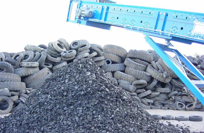 Утилизация шин в Омске