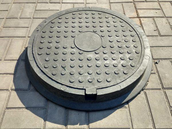 Запрещено сдавать на лом канализационный люк