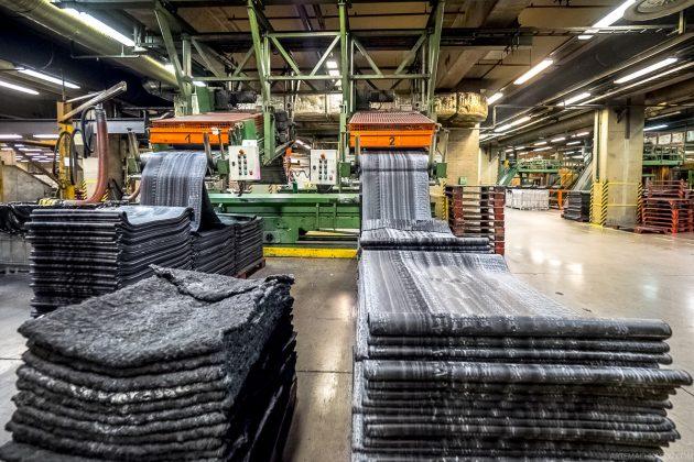 Завод по переработке покрышек