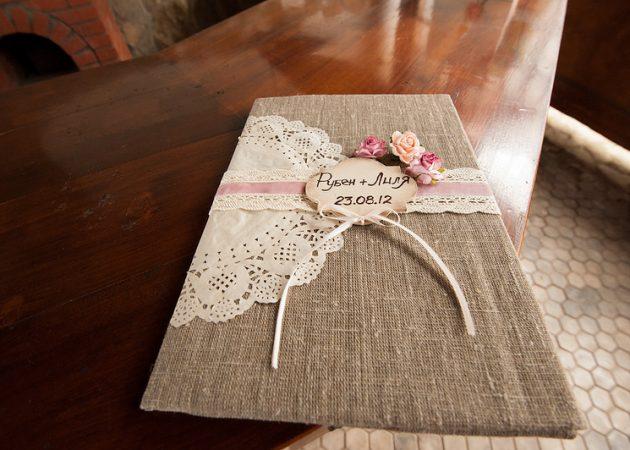 Декорированная папка