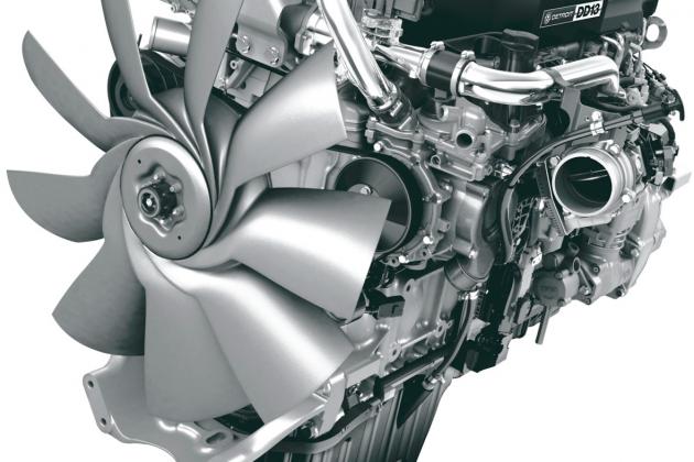 Дизельный двигатель автомобиля
