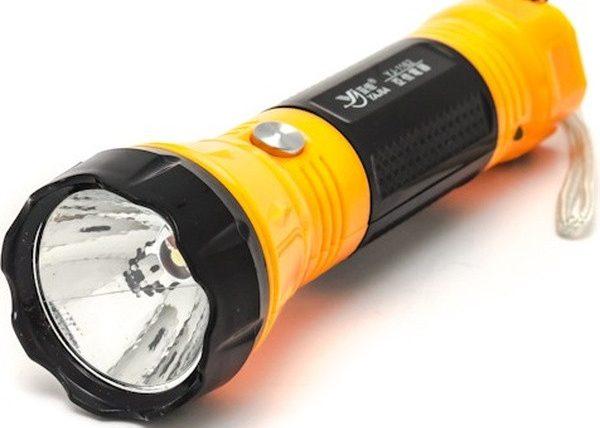 Фонарик с аккумуляторными батарейками