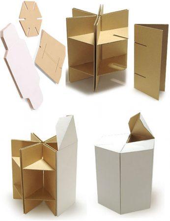 Сборка и укрепление конструкций из картона