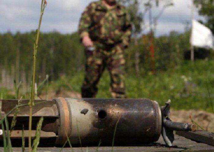 Металлолом на военных полигонах