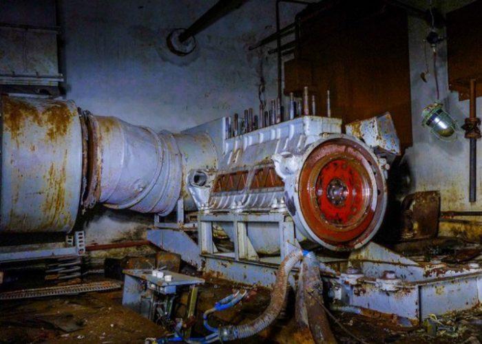 Металлолом на заброшенных заводах