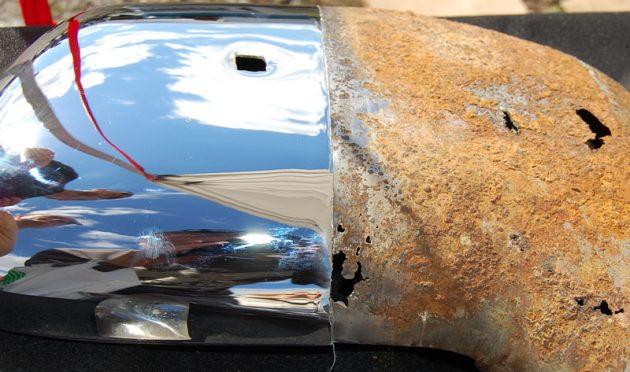 Одна из главных функций гальванического покрытия - борьба с коррозией