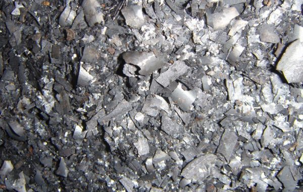 Окалина, полученная в процессе ковки