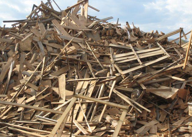Отходы из дерева