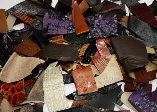 Отходы кожаных изделий