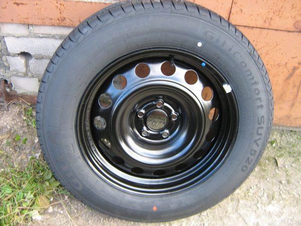 Не допускается сдача покрышек, надетых на колесные диски