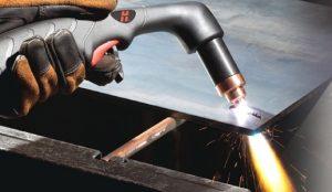 Процесс газовой резки металла