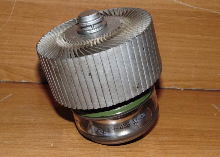 Радиолампа ГУ 43-Б