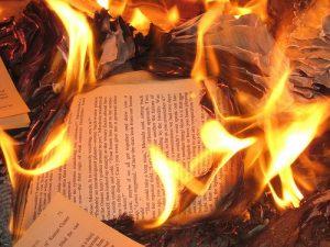 Сжигание документов
