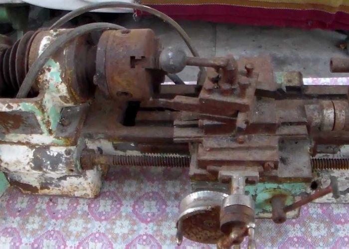Токарный станок на металлолом