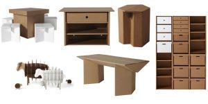 За картонной мебелью нужен особый уход