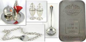 Изделия из серебра 999 пробы