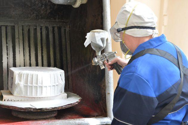 Процесс нанесения гальванического покрытия