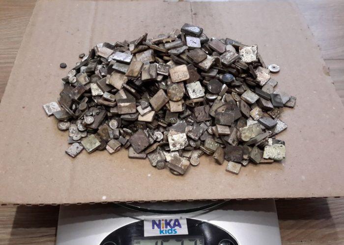 Серебряные радиодетали 925 пробы