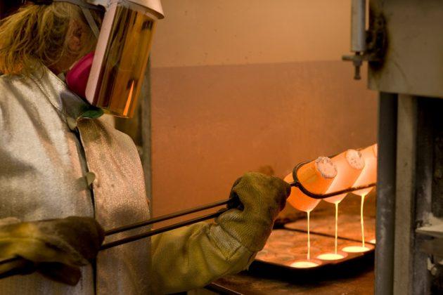 Аффинаж золота в лаборатории