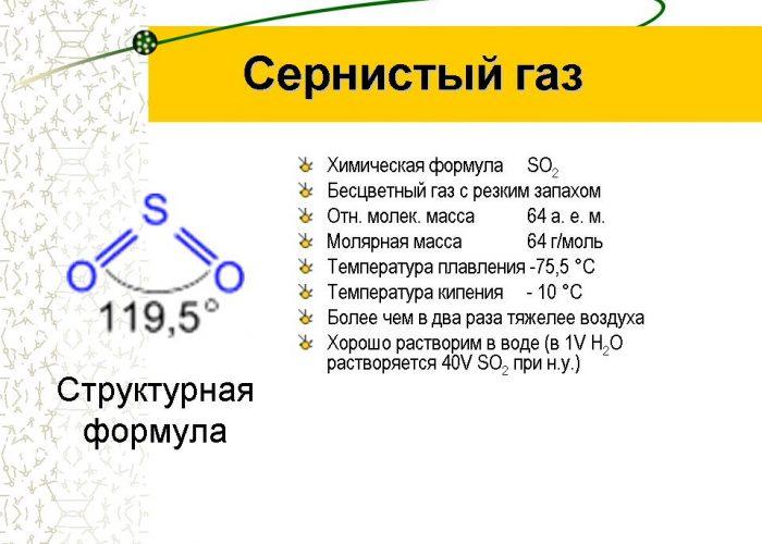 Сернистый газ